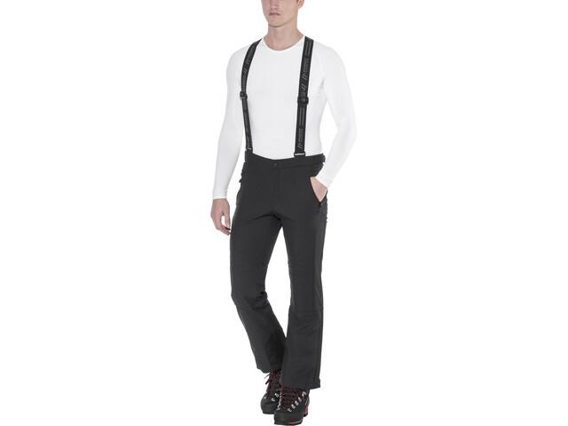 Maier Sports Lothar 2 Pantalones de Esquí Softshell Hombre, negro